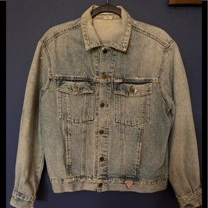 🔥💙DENIM JACKET GEORGES MARCIANO FOR GUESS💙🔥
